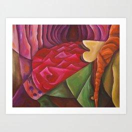 Puzzled Dreams Art Print