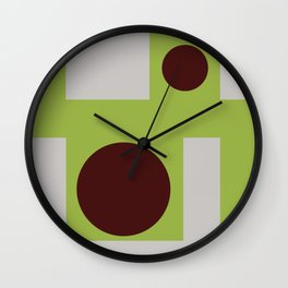 From the plant to the jelly Wall Clock