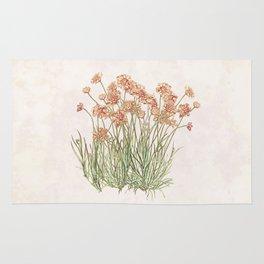 Flowering Scabiosa Rug