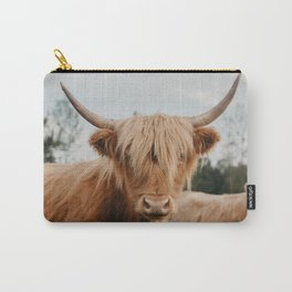 Highland Cow In The Country Carry-All Pouch