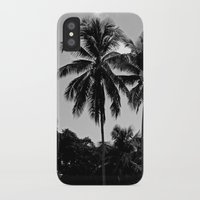 puerto rico iPhone & iPod Cases featuring Palm Trees Puerto Rico by Derek Delacroix