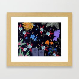graveflies Framed Art Print