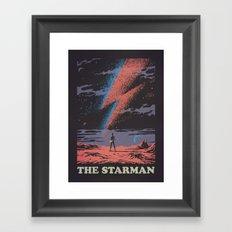 The Starman Framed Art Print