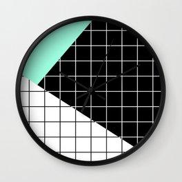 Minimal Geometry II Wall Clock