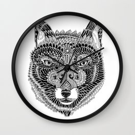 FOX-HEAD Wall Clock