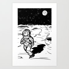Eyestronaut Art Print