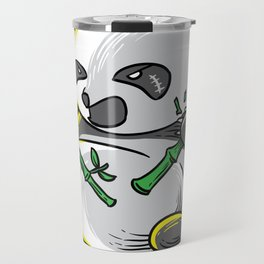 Panda monium Pandamonium shirt angry Kawaii panda Travel Mug