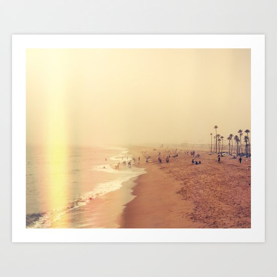 Foggy Tide Art Print