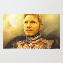 Starlord Guardians Of The Galaxy General Portrait Painting | Fan Art Rug