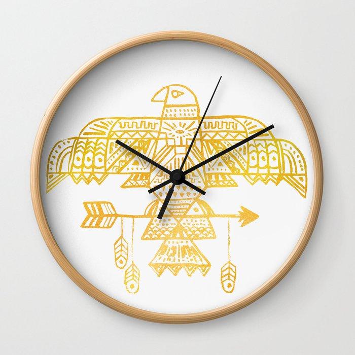 Hawk Eye Wall Clock