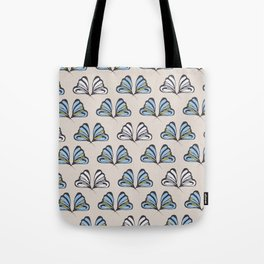 Madam Butterfly Print Tote Bag