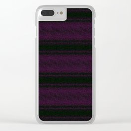 THE LINES Clear iPhone Case