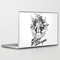 kaiju Laptop & iPad Skins featuring Kaiju Killer by R & J Keefe