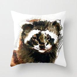 Totem Vormela Polecat Throw Pillow