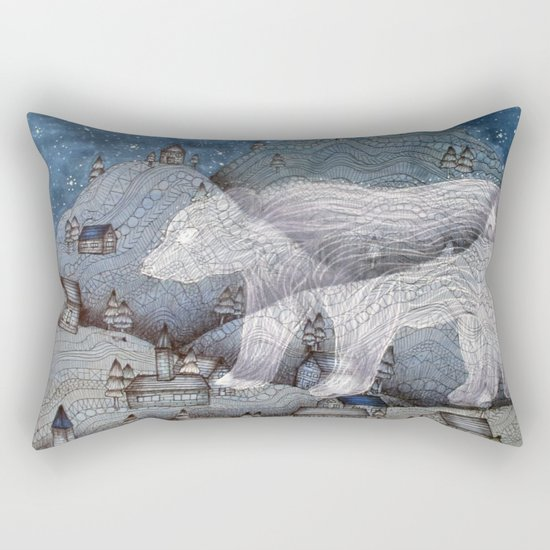 I Protect This Place II Rectangular Pillow