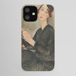 Amedeo Modigliani - Portrait Of Dedie Hayden iPhone Case