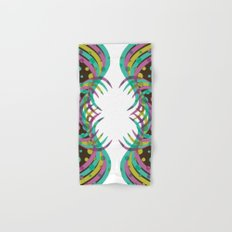 Abstract Spring Bloom Hand & Bath Towel