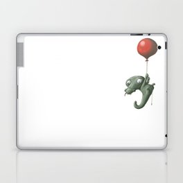 Crocodile in Trouble Laptop & iPad Skin
