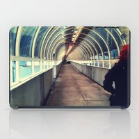 onward iPad Cases featuring Onward Into The Tunnel Forbidden  by AJ Calhoun