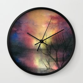 Fantasy Landscape Wall Clock