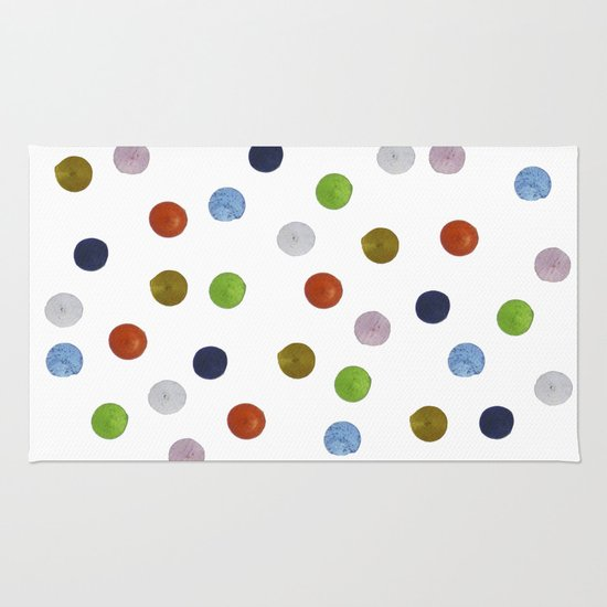 Pinpoint Dots Rug