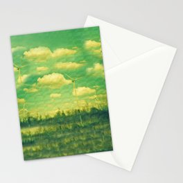 Wind Mills Stationery Cards