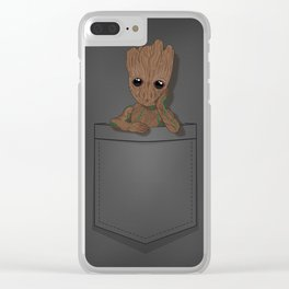 Guardians Baby Twig in a Pocket Clear iPhone Case