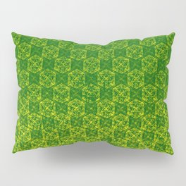 D20 Druid Ranger Crit Pattern Premium Pillow Sham