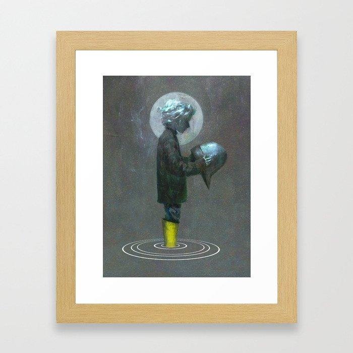 The Boy Framed Art Print