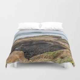 Not Much Punch for the Devil's Punchbowl Duvet Cover