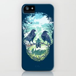 Nature's Skull iPhone Case