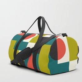 Mid-century Pattern 107 (blocks) Duffle Bag