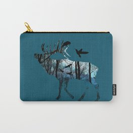 Forest Spirit - Blues Carry-All Pouch
