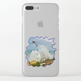Balanced Arrival Clear iPhone Case