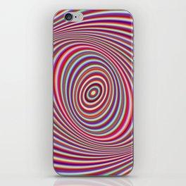 Neon hypnosis iPhone Skin