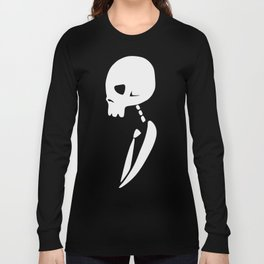 Inverted PARTY SKULL Long Sleeve T-shirt