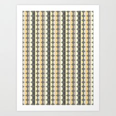 Scandi Strands Art Print