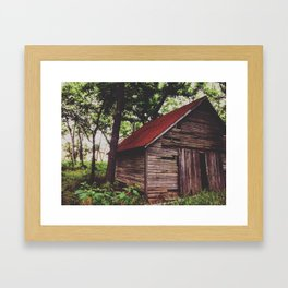 Abandoned Ways Framed Art Print