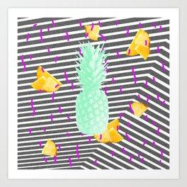 Pineapple #1 Art Print