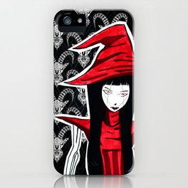 Red WITCH Doll ecopop iPhone Case
