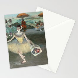 Edgar Degas - Dancer With Bouquet, Curtseying Stationery Cards
