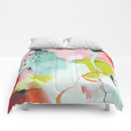 landscape in spring Comforters