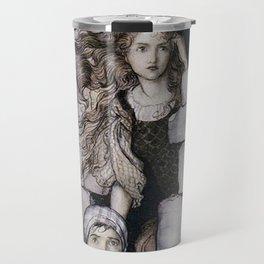 "Arthur Rackham,"" Maid Maleen "" Travel Mug"