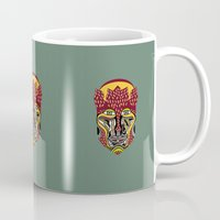 african Mugs featuring African King by Sandyshow
