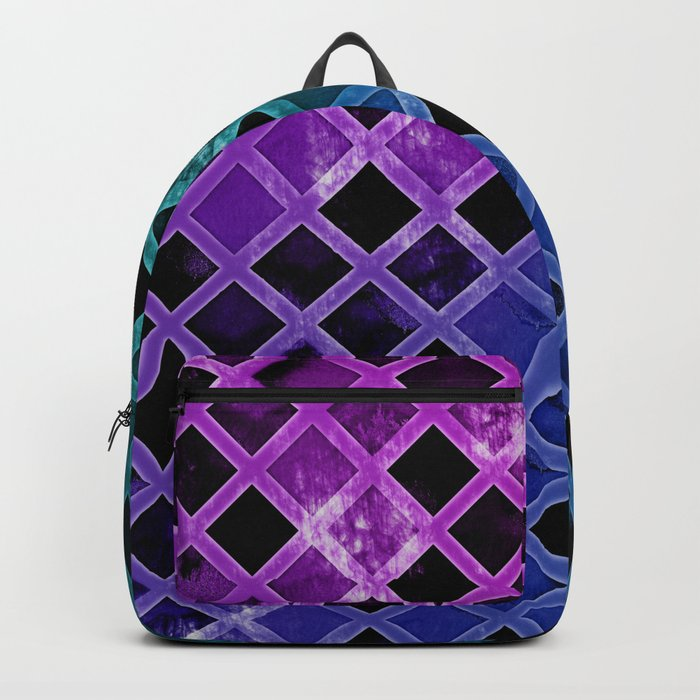 Abstract Geometric Background #24 Backpack