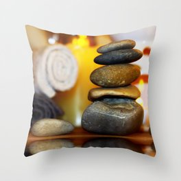 Spa and relax Throw Pillow