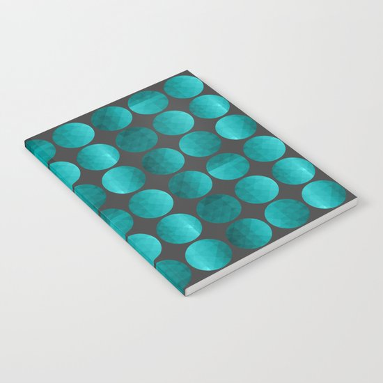 Emerald circles Notebook