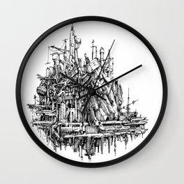 h hum Wall Clock