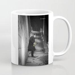 The golden saxophone player Coffee Mug