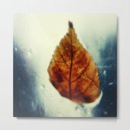 Poetic Winter Metal Print